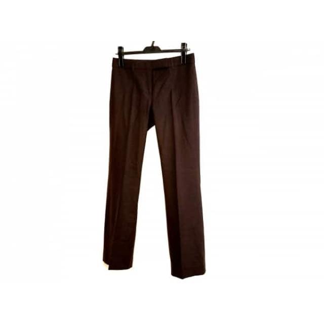 【中古】 セオリー theory パンツ サイズ2 S レディース ダークブラウン