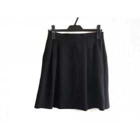 【中古】 マックスマーラ Max Mara スカート サイズ36 S レディース 美品 黒
