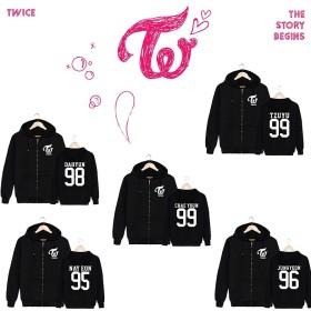 即配送!TWICE パーカー Tシャツ コート twice衣装 トレーナー 韓国ファッション 野球服 応援グッズ twiceグッズ 男女兼用 レディース メンズ 応援服