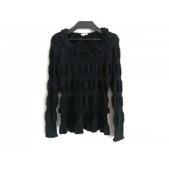 【中古】 トゥービーシック TO BE CHIC 長袖セーター サイズ2 M レディース 黒