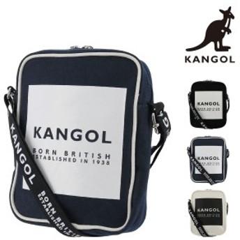カンゴール ショルダーバッグ ハッピー メンズ レディース 250-4931 KANGOL ミニショルダー ロゴ キャンバス
