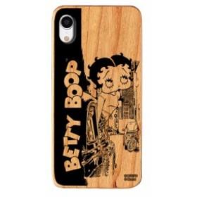 iPhoneXR ケース Betty Boop ベティー ブープ iPhone XR ウッドケース Gizmobies ギズモビーズ Downtown お取り寄せ
