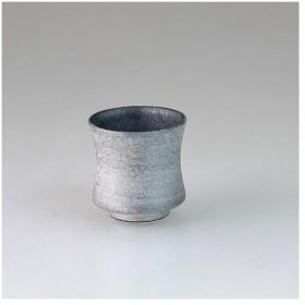 西日本陶器 銀星 杵型ぐい呑(マス付)