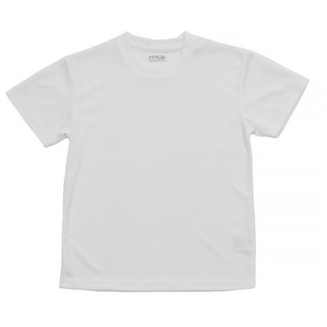 PG ドライプラス UV半袖 Tシャツ 865PG9CD9296 WHT (Jr)