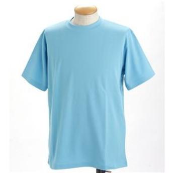 ドライメッシュポロ&Tシャツセット サックス SS