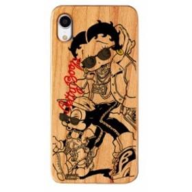 iPhoneXR ケース Betty Boop ベティー ブープ iPhone XR ウッドケース Gizmobies ギズモビーズ Young お取り寄せ