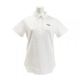 キャロウェイ(CALLAWAY) ゴルフウェア レディース ボタンダウン カラーシャツ 241-9157803-030(Lady's)