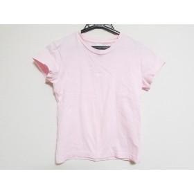 【中古】 アニエスベー agnes b 半袖Tシャツ サイズ1 S レディース ピンク