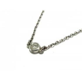 【中古】 ティファニー TIFFANY & Co. ネックレス バイザヤード シルバー ダイヤモンド 3Pダイヤ