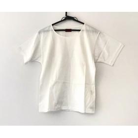 【中古】 ケンゾー KENZO 半袖Tシャツ サイズM レディース 美品 アイボリー