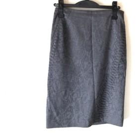 【中古】 エストネーション ESTNATION スカート サイズ40 M レディース ダークグレー