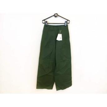 【中古】 アングリッド UNGRID パンツ サイズS レディース 美品 グリーン