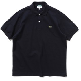 LACOSTE × BEAMS / 別注 ヘビー ポロシャツ メンズ ポロシャツ NAVY 1