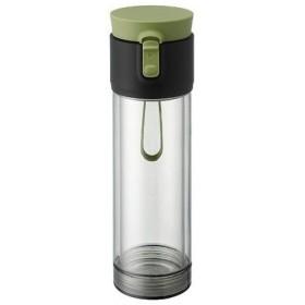 PO: Pao2Go 2802 オリーブグリーン パオツーゴー ティーボトル(茶葉入れ付き・360・550ml)