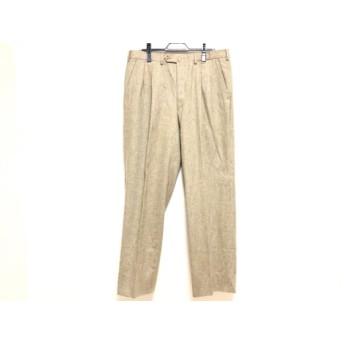 【中古】 フェンディ FENDI パンツ サイズ54 L メンズ グレージュ CLUB