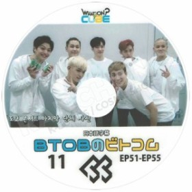 【K-POP DVD】☆★BTOB ビトコム 11 (EP51-55) WHAT ON CUBE☆【日本語字幕あり】