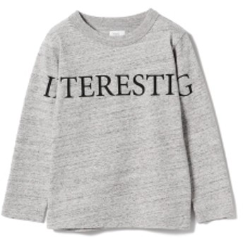 THE PARK SHOP / Inter ロングスリーブ Tシャツ 19 (95~135㎝) キッズ Tシャツ GREY 105