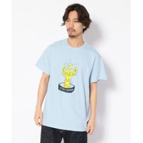 【40%OFF】 ビーバー ART OF SCRIBBLE/アート オブ スクリブル STAY SHARP S/S TEE/半袖Tシャツ メンズ BLUE XL 【BEAVER】 【セール開催中】