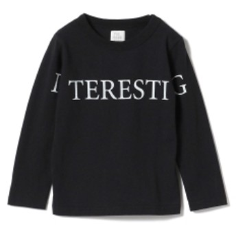 THE PARK SHOP / Inter ロングスリーブ Tシャツ 19 (95~135㎝) キッズ Tシャツ BLACK 115