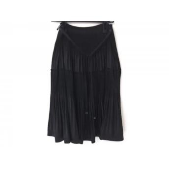 【中古】 トゥービーシック TO BE CHIC スカート レディース 美品 黒