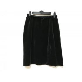 【中古】 フォクシーニューヨーク FOXEY NEW YORK スカート サイズ40 M レディース 黒