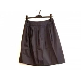 【中古】 ナラカミーチェ NARACAMICIE スカート サイズ1 S レディース ネイビー