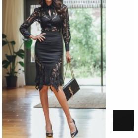 韓国 ファッション レディース パーティードレス 結婚式 お呼ばれドレス セットアップ 秋 冬 春 パーティー ブライダル naloE091 シース