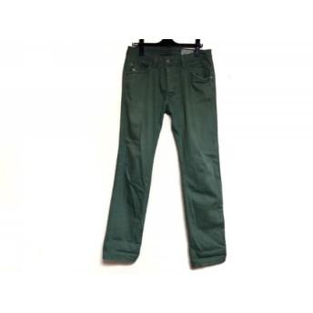 【中古】 ディーゼル DIESEL パンツ サイズ30 メンズ DARRON グリーン