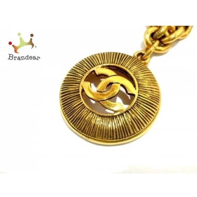 481e25ad5e14 シャネル CHANEL ネックレス 美品 金属素材 ゴールド ココマーク 値下げ 20190407