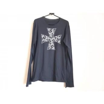 【中古】 ルシアンペラフィネ lucien pellat-finet 長袖Tシャツ サイズS メンズ 黒 白 クロス/スカル