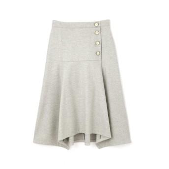 ジル スチュアート JILLSTUART ブランカアシンメトリースカート LIGHT GRAY 0【税込10,800円以上購入で送料無料】