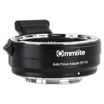 《新品》 Commlite(コムライト) マウントアダプター キヤノンEFレンズ/フジフイルムXボディ 用 AF対応 電子接点付 CM-EF-FX