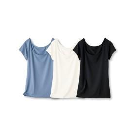 超冷感フレンチ袖インナー3枚組(吸汗速乾。UVカット) (フレンチ袖・半袖・五分袖インナー)