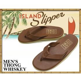 アイランドスリッパ ISLAND SLIPPER THONG WHISKEYSANDAL PT202 / ウイスキー メンズ サンダル トングサンダル ビーチサンダル レザーサンダル ハワイ
