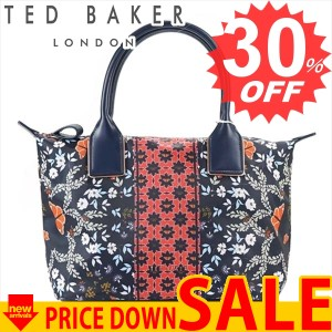143255 10 NAVY (テッドベーカー) トートバッグ TED BAKER