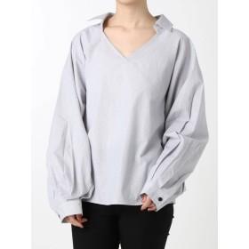 [EMODA]ワイドマークシャツトップ