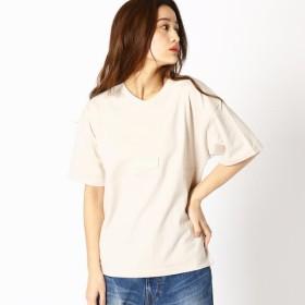[マルイ] フロント切り替えし ロゴテープビッグTシャツ/グランドパーク(GRAND PARK)