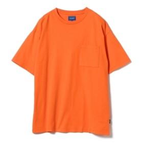 BEAMS / ポケット Tシャツ メンズ Tシャツ ORANGE L