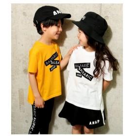 [マルイ]【セール】プリントBIGスリットTシャツ/アナップキッズ&ガール(ANAP KIDS&GIRL)