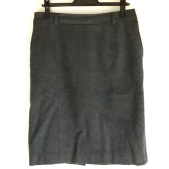【中古】 ナラカミーチェ NARACAMICIE スカート サイズ3 L レディース グレー