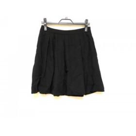 【中古】 セオリーリュクス theory luxe ミニスカート サイズ38 M レディース 黒