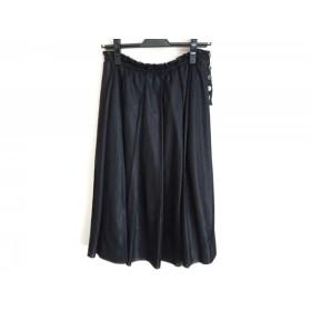 【中古】 トリココムデギャルソン tricot COMMEdesGARCONS スカート サイズS レディース 黒
