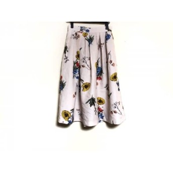 【中古】 マイストラーダ Mystrada ロングスカート サイズ38 M レディース 花柄