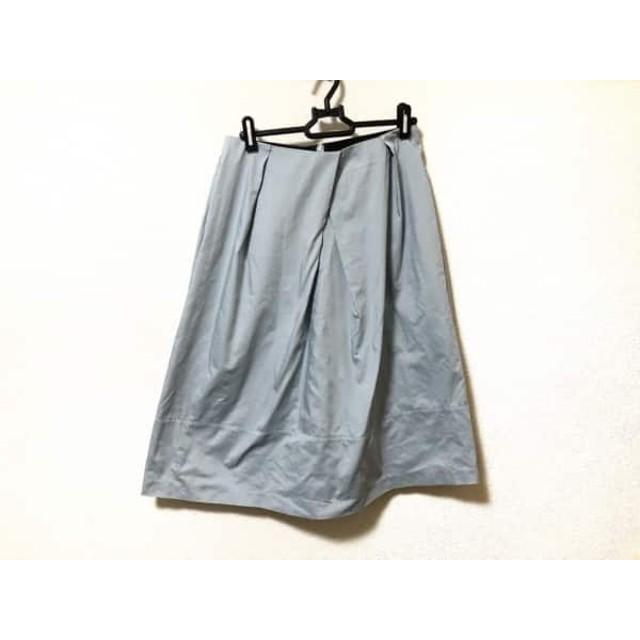 【中古】 ミラオーウェン Mila Owen スカート サイズ0 XS レディース ライトブルー