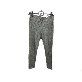 【中古】 ラグアンドボーン rag & bone パンツ サイズ25 XS レディース 黒 アイボリー ニット