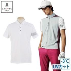 【30%OFFセール】ポロシャツ メンズ ランバン スポール LANVIN SPORT 日本正規品 2019 春夏 新作 ゴルフウェア