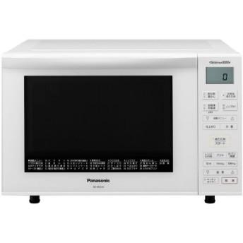 パナソニック 簡易スチームオーブンレンジ NE-MS235-W エレック 23L ホワイト