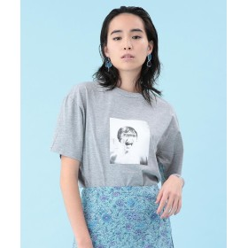 【50%OFF】 ビームス アウトレット am / MARION Tシャツ レディース GREY S 【BEAMS OUTLET】 【セール開催中】