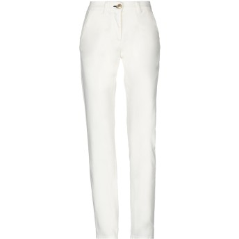 《セール開催中》SHINE レディース パンツ ホワイト 25 コットン 98% / ポリウレタン 2%