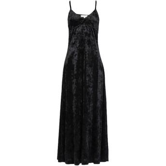 《セール開催中》MICHAEL MICHAEL KORS レディース ロングワンピース&ドレス ブラック XXS ポリエステル 96% / ポリウレタン 4%